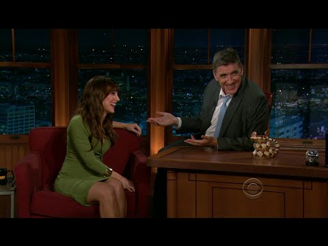 Late Late  with Craig Ferguson 922011 Lindsay Sloane, Peter Krause