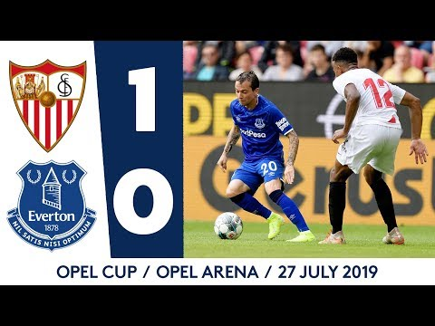 OPEL CUP HIGHLIGHTS: SEVILLA 1-0 EVERTON