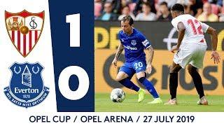 OPEL CUP HIGHLIGHTS: SEVILLA 1-0 EVERTON