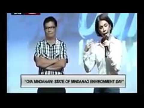 FULL VIDEO DENR SEC  GINA LOPEZ @ THE OYA MINDANAWI STATE OF MINDANAO ENVIRONMENT DAY