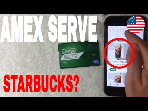 ✅  Can You Use American Express Serve Prepaid Card On Starbucks App 🔴