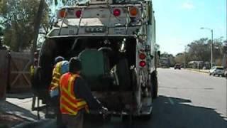 leach 2rii peterbilt310 rear loader on commercial trash run in bradenton fl on 3 4 10