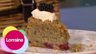 Tasting John Whaites Delicious Crumble Cake  Lorraine