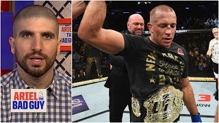 Georges St-Pierre was the 'greatest MMA fighter of all time' - Ariel Helwani | Ariel & the Bad Guy