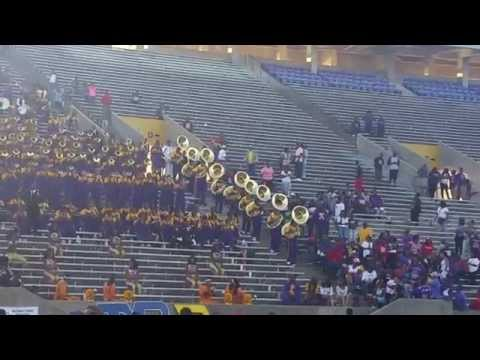 "Alcorn State ""Sounds of Dynomite"" vs. Texas Southern ""Ocean of Soul"" 5th Quarter"