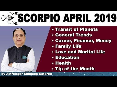 SCORPIO Horoscope | Scorpio Monthly Forecast | April 2019 Astrology | Vrishchik Rashifal April from YouTube · Duration:  8 minutes 17 seconds