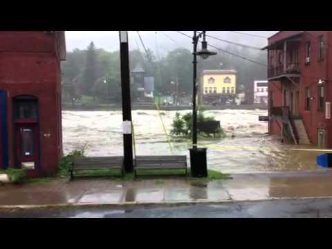 Shelburne Falls flood