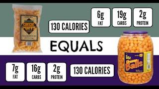 Trader Joe's Cheese Puffs And Utz Cheese Balls: Equals 91