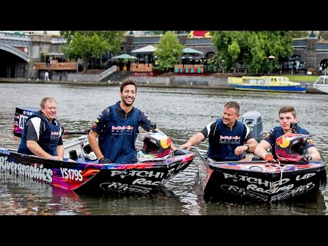 A Melbourne Dinghy Dash with Daniel Ricciardo and Max Verstappen