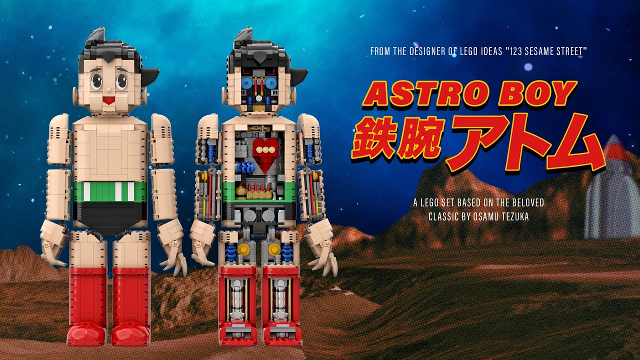 LEGO Ideas Astro Boy 鉄腕アトム