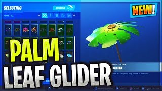 Déverrouillage du planeur PALM LEAF dans Fortnite Battle Royale SEASON 8