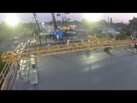GOEP2 Sunrise Bridge Cement Pour