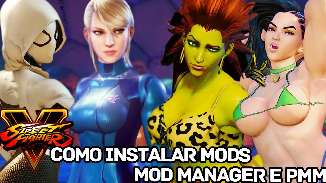 Como Instalar MODS no Street Fighter V (Mod Manager/PMM) - Tutorial