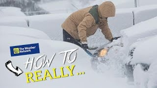 How to really winter 'storm-proof' your vehicle (do this with your snow brush)