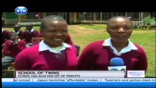 Kericho school with 14 pair of twins
