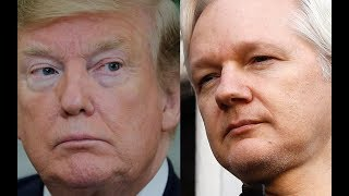 Donald Trump distanced himself from Julian Assange after the Wikileaks founder was arrested in London.