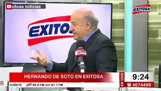 Entrevista a Hernando de Soto:
