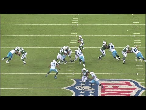 Josh McCown's Bomb To Robby Anderson  Jets vs Titans Preseason 
