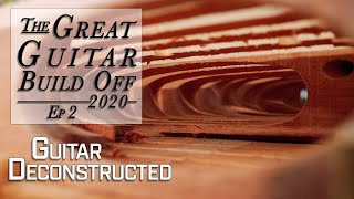 My Great Guitar Build Off 2020 Ep. 2 Taking a Kit Guitar & deconstructing it from the inside out