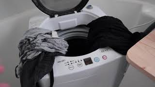 Day 44 - I Bought an Awesome Portable Washing Machine (Zeny HD-001) || #RVLife