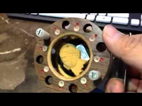 Homemade pin fishing reel ver2