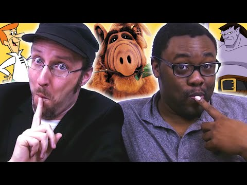 Black Nerd & Nostalgia Critic (Doug Walker) RUIN YOUR CHILDHOOD!!!