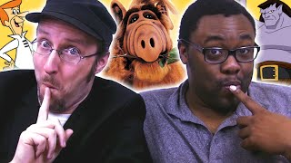 Black Nerd & Nostalgia Critic (Doug Walker) RUIN YOUR CHILDHOOD!!!