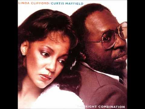LINDA CLIFFORD & CURTIS MAYFIELD   BETWEEN YOU BABY & ME