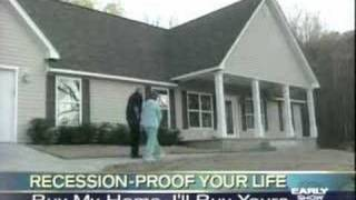 CBS News story on swapping homes - permanent house exchange