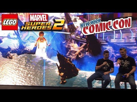 LEGO Marvel Superheroes 2 NYCC Exclusive! Arthur Parsons Dives DEEP into Character Creator w/ Marvel