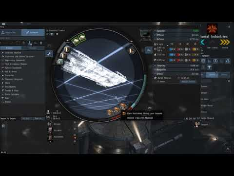 EVE Online: Tech 1 Covetor Fitting