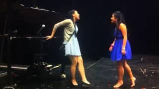 Behind the scenes: Anh Vu og Keyman sprer musikkglede (med cô gai ao mau xanh Michelle)