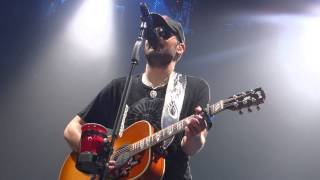 Eric Church - Ophelia (The Band Cover) - April 12, 2015 - Edmonton, AB