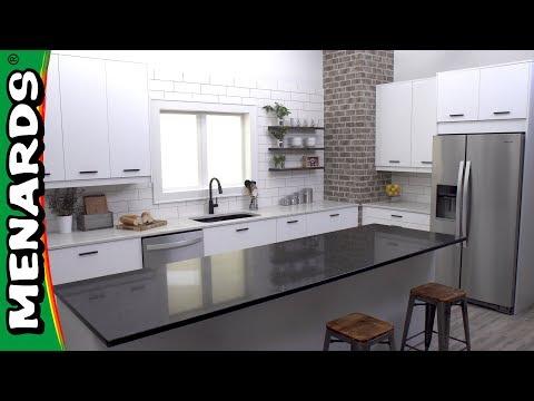 Klëarvūe Cabinetry Kitchen Cabinet Installation Menards