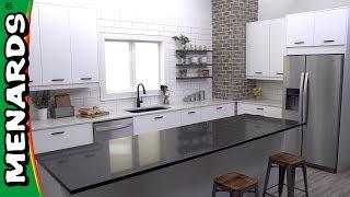 Klëarvūe Cabinetry® Kitchen Cabinet Installation - Menards