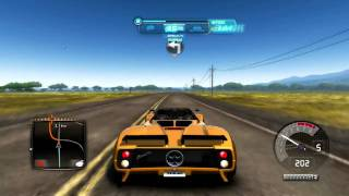 "Test Drive Unlimited 2 PC - Gameplay ""Pagani Zonda"" (HD)"
