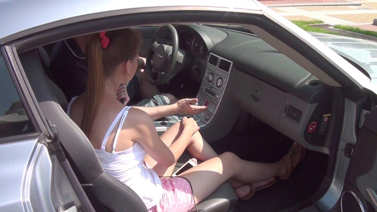 Глубокий минет в авто