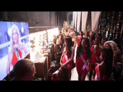 Miss Universe 2013 Backstage