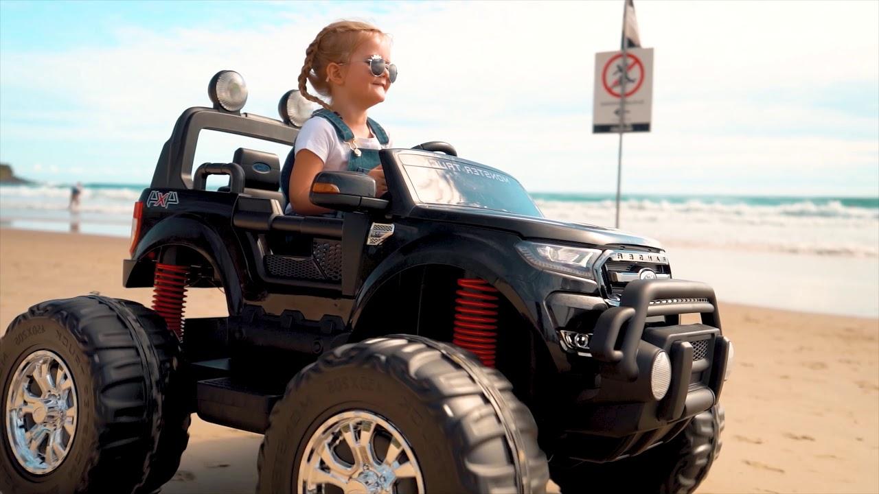Ford Ranger 4x4 Monster Truck Ride On Toy Youtube