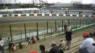 2001 F1日本GP フリー走行2日目
