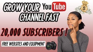 How To Start A Youtube Channel With NO MONEY 2019
