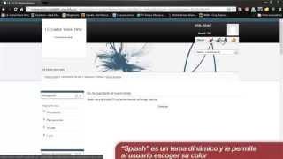 Video tutorial Moodle 02 Configuracion Basica Apariencia