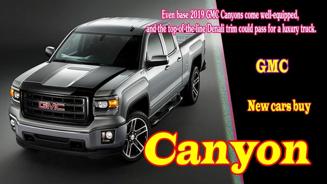 2019 Gmc Canyon Slt 2019 Gmc Canyon Diesel 2019 Gmc Canyon