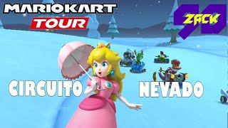Mario Kart Tour - Copa Bebé Peach - N64 Circuito Nevado - Peach - ZACK90