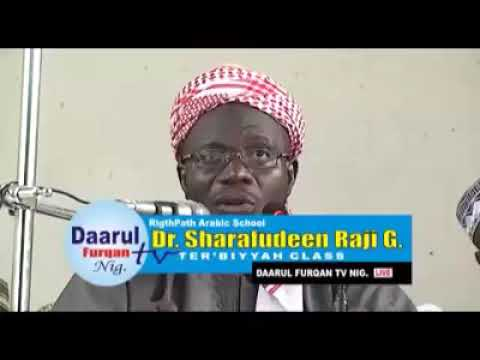 Download Dr sharrfdeen Gbadebo Raji: lecture on upbringing of your wards