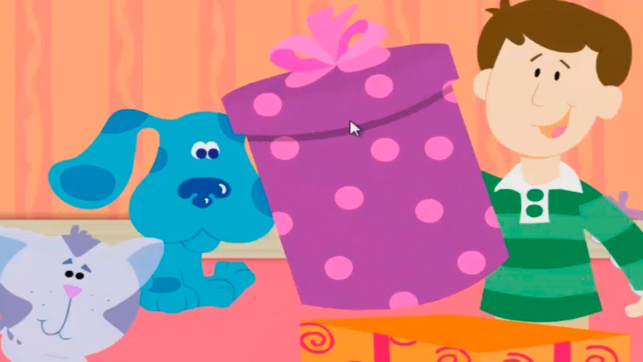 BLUE'S CLUES - Blue's Clues What's in the Box - New Blue's Clues ...