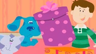 BLUE'S CLUES - Blue's Clues What's in the Box - New Blue's Clues Game - Online Game HD - Gameplay