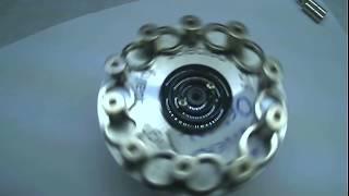 Motor magnético perpétuo o ponto de equilibrio perfeito.