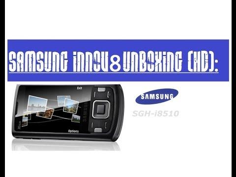 Samsung Innov8 i8510 Smartphone Unboxing (Unlocked):