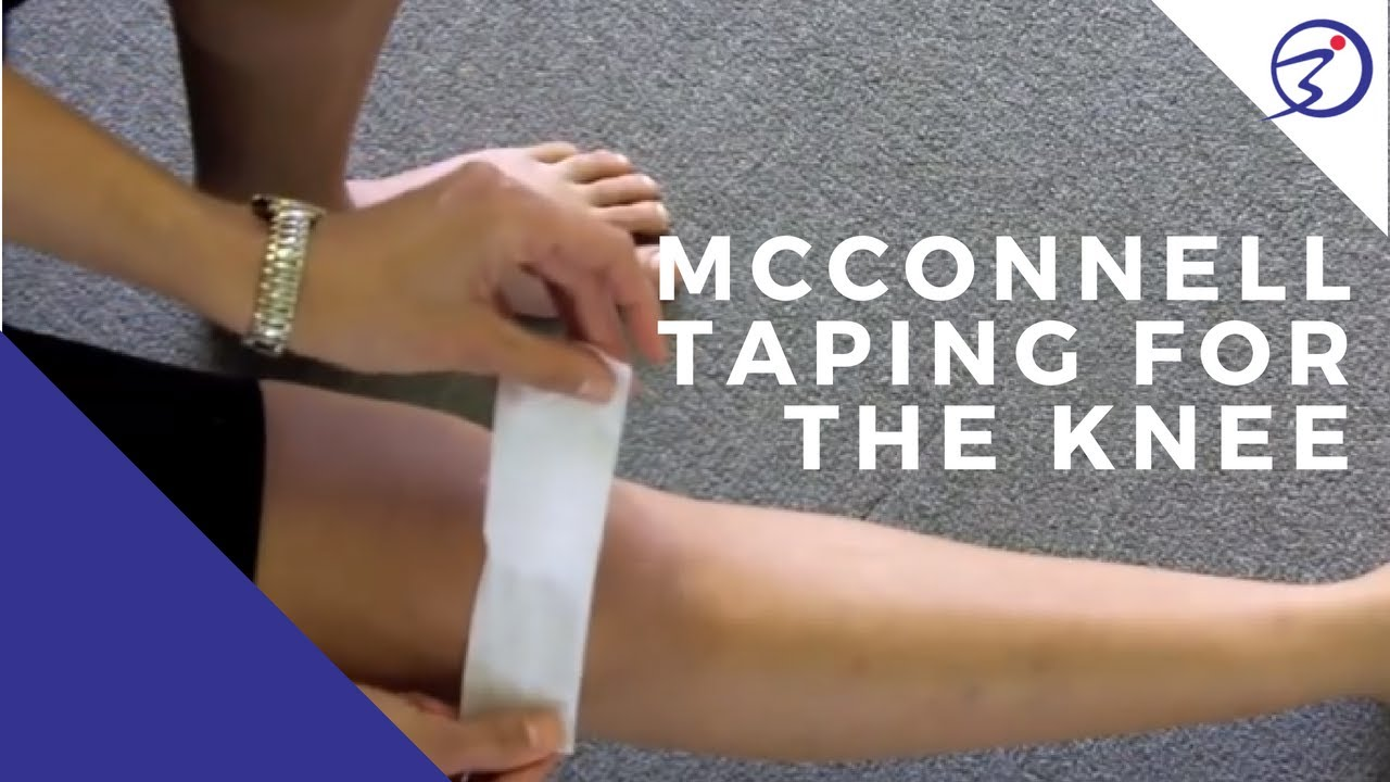 Mcconnell Taping For The Knee Youtube